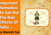 Important Remedies To Get Rid The Bad Effects Of Rahu .../ Spiritual Guru Manish Sai